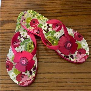 Vera Bradley Flip Flops 7/8